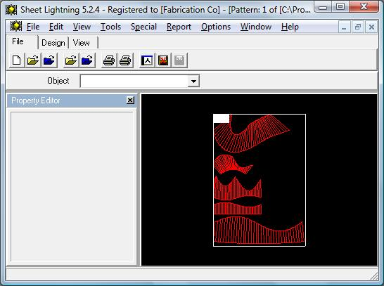 Unfold 3D intersection screen shot