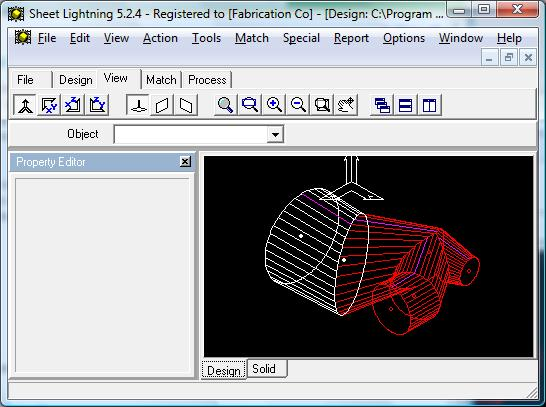 3D intersection screen shot