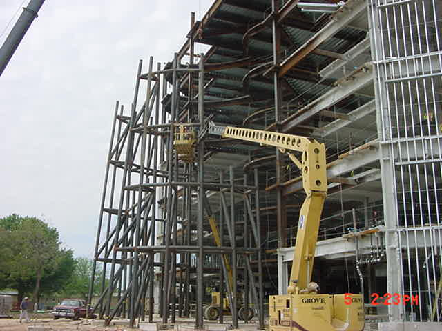 Tube Structural Steel Contruction